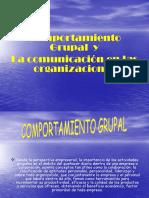 Comportamiento Grupal y Comunicacion