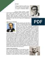 Biografias de Escritores Guatemaltecos