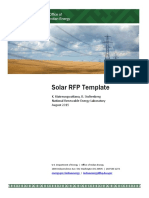 RFP Template for Grid-tied PV Project