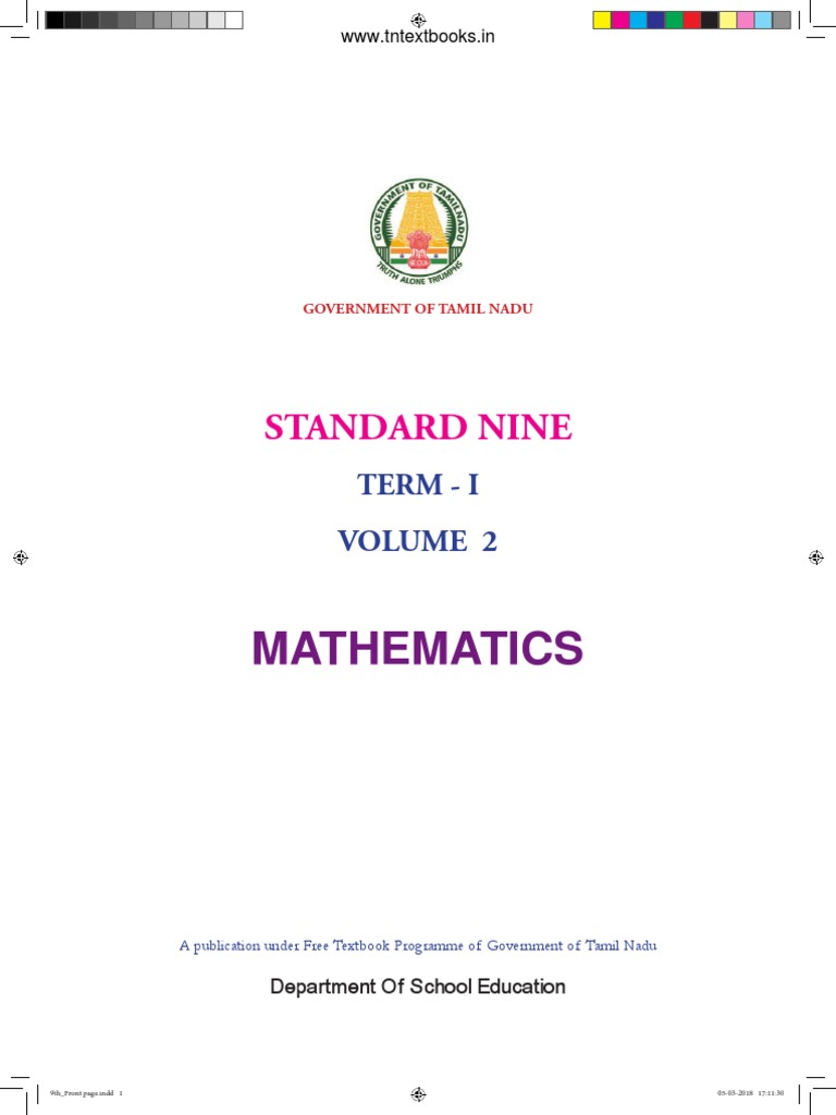 9th Maths EM Term-1 pdf | Empty Set | Set (Mathematics)