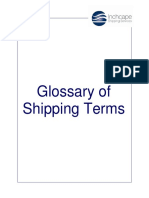 ISS Glossary of Shipping Terms