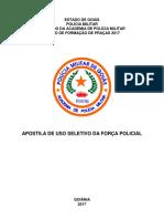Apostila - Uso Seletivo Da Força Policial