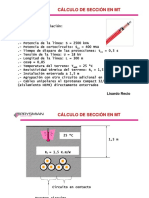 Prysmian Calculo de Seccion en MT (Con Cc)