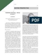 2003 Korner Limitation and Stress JVS