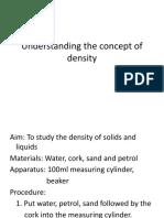 Understanding the Concept of Density