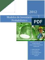 Modelo Probabilistico de Inventario