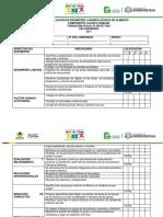 Evaluacion Del Desempeño para  Manipulador Alimentos icbf