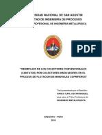 Reemplazo de Colectores Convencionales Para Minerales Cupriferos
