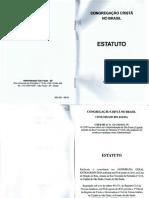 Estatuto - CCB 2013