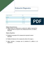 Evaluacion Diagnostica Alternativa