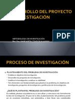 Desarrollo Del Proyecto de Investigación