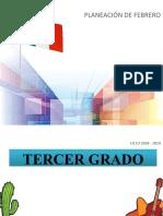 PlaneacionFebrero3erGrado2018-2019