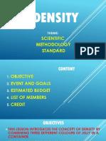 Density Presentation 2017