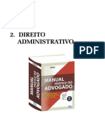 DIREITO ADMINISTRATIVO - Modelo de Peças Processuais