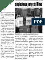 18-06-19 Supervisa Adrián ampliación de parque en Mitras