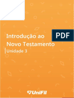 Introdução Ao Novo Testamento Unidade III