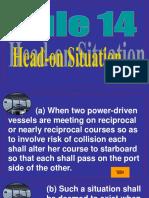 Rule 14 - Head-On Situation