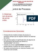 5CP Dinamica de Primer Orden