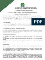 Edital técnico 2019