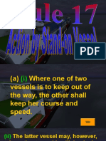 Rule 17 - Action by Stand-On Vessel