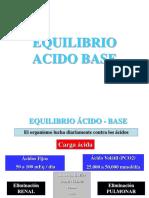 Equil. Acido Base