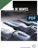 Sistema de Dientes VCE May-Dic 2018