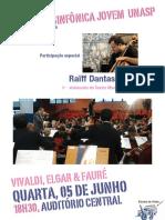 Cartaz Orquestra Sinfônica Jovem