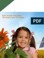 Catalogue 2009 Solar Inverter en eBook