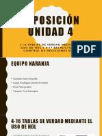 Exposición Unidad 4