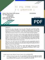 Amended Pyq June 2014 Part c Question 1