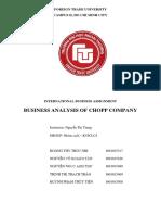 [International Business] Nhóm Cuối - Chopp