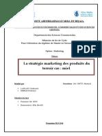 La Stratégie Marketing Des Produits Du Terroir