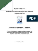 Plan Nacional Control