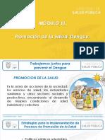 Módulo III Promoción Dengue