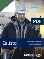 Calisto Online DGA Monitors for Transformer Oil