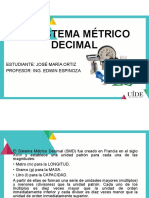 Sistema Metrico Decimal (SMI)