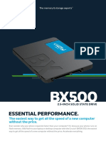 Crucial Bx500 Ssd Productflyer