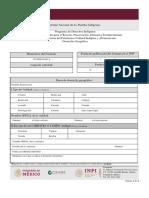 Formato 2.1. Domicilio Geografico Proyectos Culturales 2019 Formato 2019..