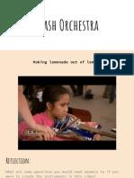 trash orchestra ppt