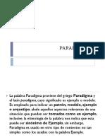 Paradigm As