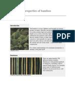 Mechanical Properties of Bamboo