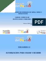 Autorizacion Para Viajar y Residir El Tigre 01-06-2019 Ultima