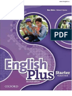 Oxford English Plus 2ed Starter Students Book