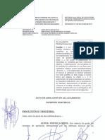 Confirman allanamiento e incautación de bienes de Pier Figari y Ana Hertz