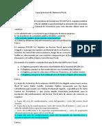 FCasos Prácticos de Revisoría Fiscal