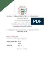 Proyecto Final Anita Dani Manjar de Lehce