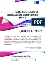 Proyecto Educativo PEIC 19-03-2018