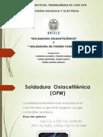 2. Soldadura Oxiacetileica y Fierro Fundido