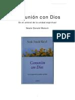 COMUNION CON DIOS+