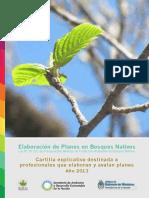 Cartilla Para Profesionales Que Formulan Planes en Bosques Nativos